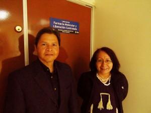 Los doctores Carlos Tomás Quirino y Norma Angélica Noguez desarrollaron el proyecto.