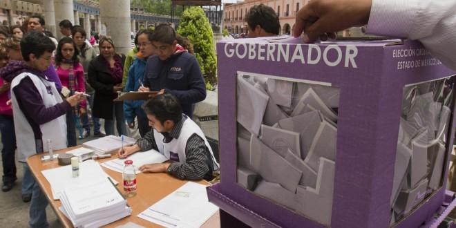 ELECCIONES A GOBERNADOR EN EL ESTADO DE MEXICO