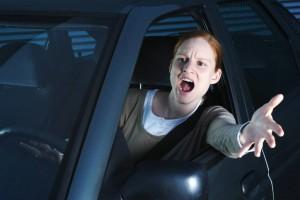 El 50% de los automovilistas siempre están enojados.